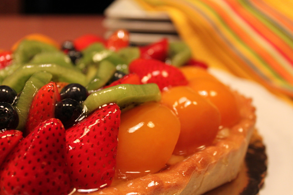 Delicious French Fruit Tart!