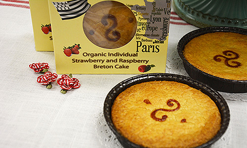 Delicious Breton Cake Pair