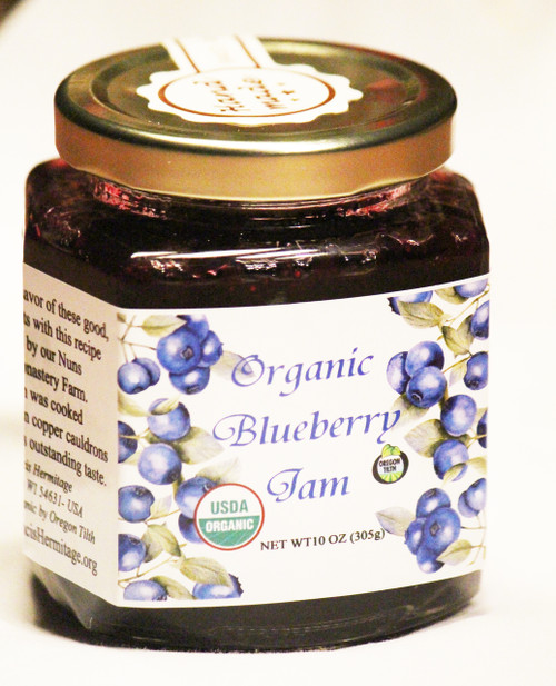 SHIPPING: ORGANIC BLUEBERRY JAM