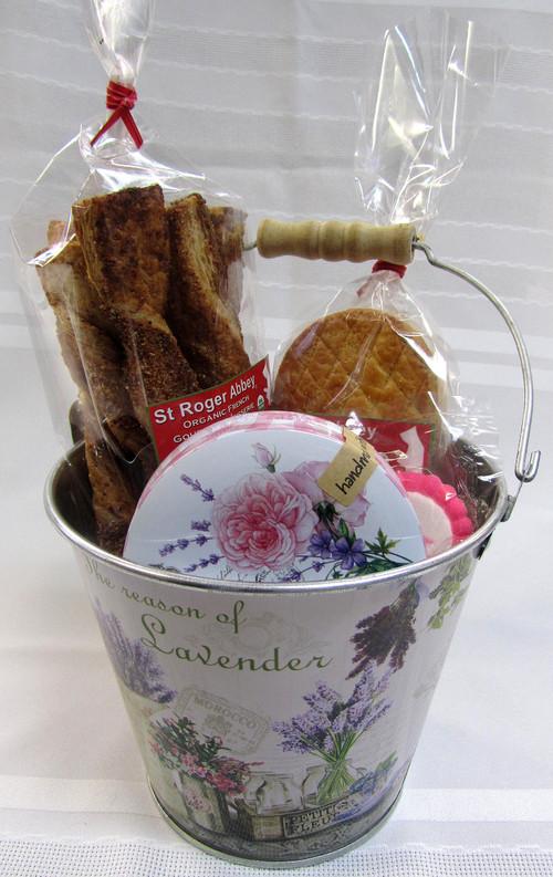 A bucketful of goodies for my dearest.