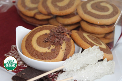 STORE-PICK-UP: ORGANIC SPIRAL COOKIES BONJOUR!