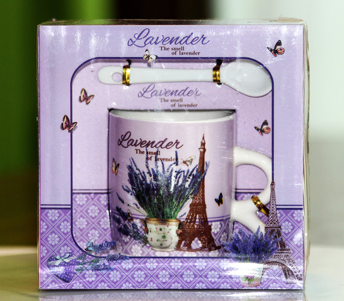 SHIPPING: Lavender Theme Mug Set - Browse Designs