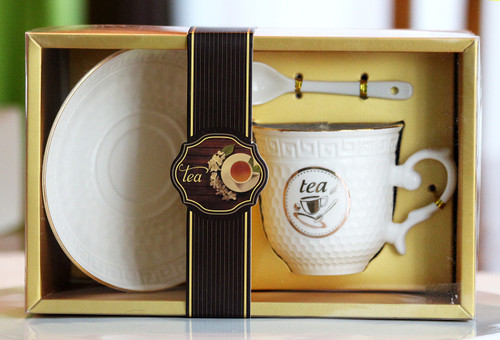 SHIPPING: Elegant Tea Cup Set - Pick the Design You Like