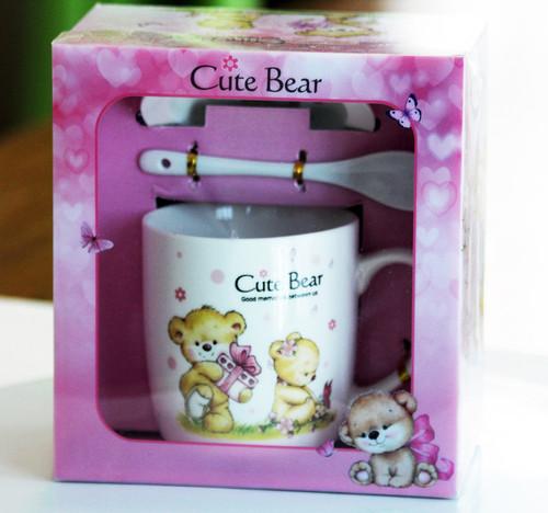 SHIPPING: Cute Bear Mug Set - Pick the One You Like