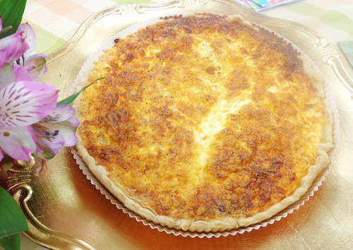 STORE-PICK-UP: Organic Cheese Quiche, Select Size