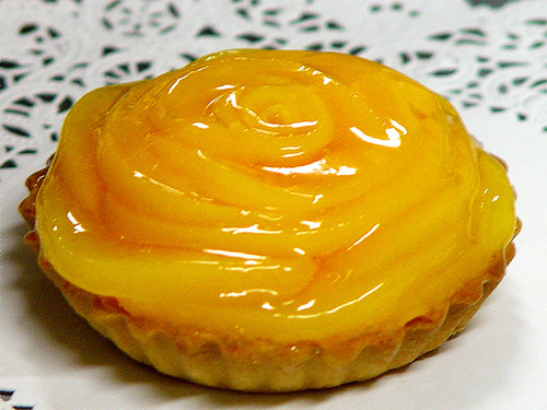 STORE-PICK-UP: Peach Tartlets, sold in pair only.