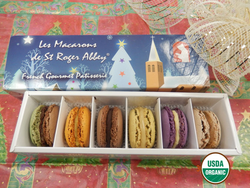 STORE-PICK-UP: ORGANIC NUIT DE NOEL - FRENCH MACARONS