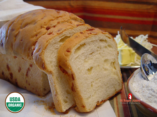 SHIPPING: ORGANIC BRIOCHE BREAD WITH CHEESE
