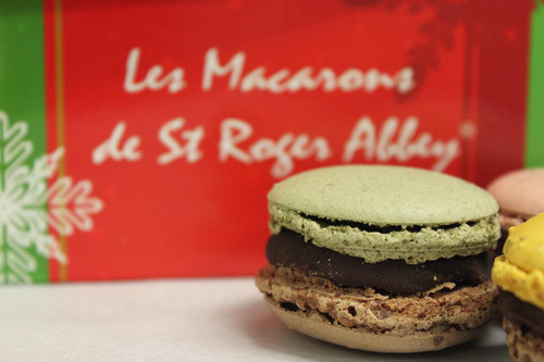 SHIPPING: ORGANIC CHRISTMAS MACARON ASSORTMENT of 6