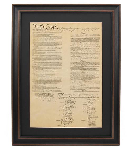 Framed Constitution