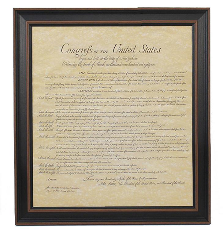 Framed Bill of Rights