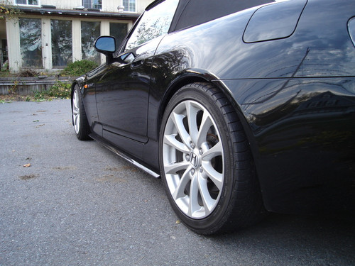 Honda S2000 V2 Side Skirt Extensions