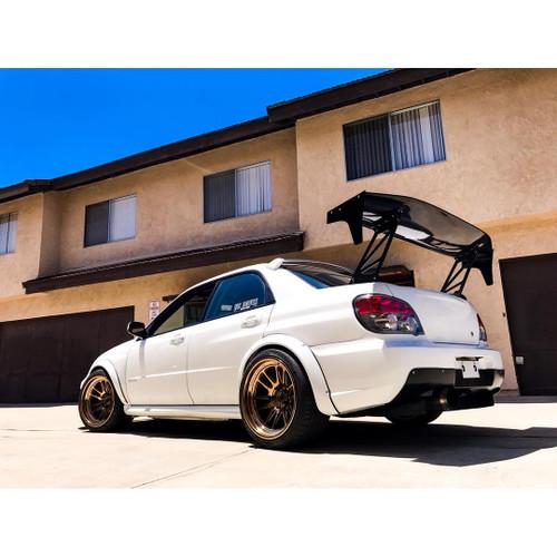 2002-2007 Subaru WRX STi Mature Style Rear Diffuser - FRP