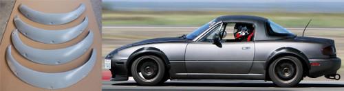 1990-1997 Mazda Miata NA Wide Body Fender Flares