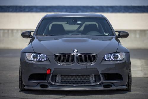 BMW E92/E90 M3 GT4 Front Bumper Lip Spoiler Splitter Diffuser - FRP