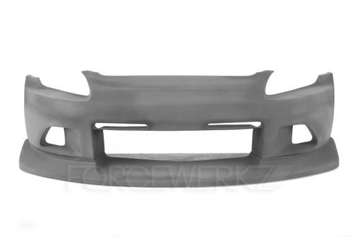 Honda S2000 VT Voltex Style Front Bumper w/ Lip Diffuser
