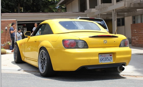 Honda S2000 AS-Style Rear Fender Flares Overfenders