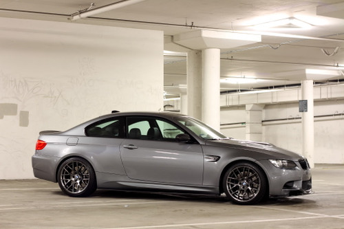 BMW E92 Side Skirt Diffuser Extensions Diffusers Splitters - Carbon Fiber (For M3 Rep Side Skirts)