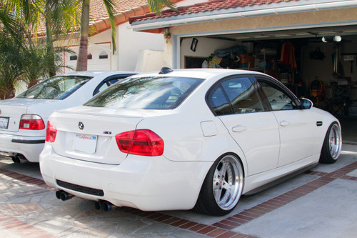 BMW E90 M3 Side Skirt Extensions Diffusers Splitters - Carbon Fiber