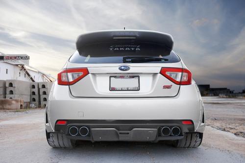 2008-2014 Subaru WRX STi Hatchback VR Style Rear Diffuser