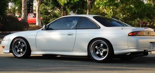 1997-1998 Nissan 240SX S14 Rear Bumper Valances