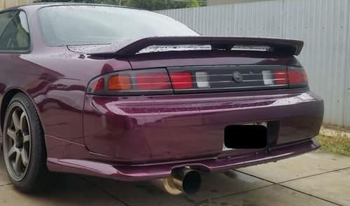 1997-1998 Nissan 240SX S14 Rear Bumper Valances (For JDM Rear Bumper)