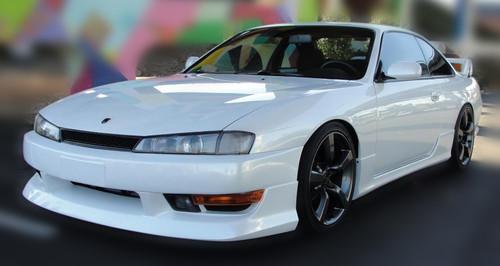 Forcewerkz Nissan 240SX S14 K's Style Front Bumper Lip