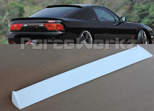1989-1994 Nissan 240SX S13 Hatchback DM Style Roof Spoiler Wing
