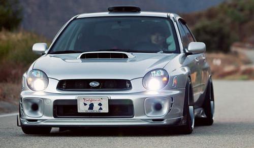 2002-2003 Subaru Impreza WRX Bugeye CS Brake Ducts Fog Light Inserts Covers