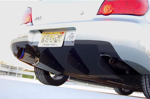 2002-2007 Subaru Impreza WRX STI KS Style Rear Diffuser - Carbon Fiber