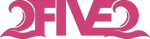2five2 pink sticker decal