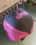 Charcoal & Neon Pink SNAPBACK