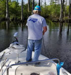 Captain Terry Payne Bass Fishing in Columbia, NC