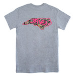 Sport Grey, Camo & Pink Tshirt