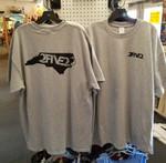 gray and black 252 nc state tshirt
