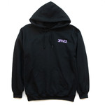 Black & Lavendar Purple Hoody