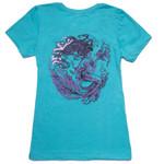 Tahiti Blue & Purple Mermaid Tee