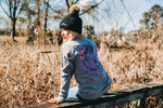 Light Pink & Purple Mermaid Longsleeve