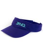 2five2 nc purple visor