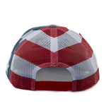 Heather Gray, Stars & Stripes SNAPBACK
