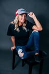 Heather Gray, Stars & Stripes SNAPBACK