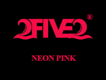 Neon Pink Decal (Med)