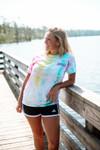 Rainbow Sea Turtle Tie-Dye T-Shirt