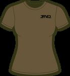 Military Green & Black Classic Tee