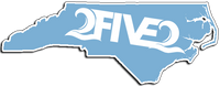 Carolina Blue UNC 252 NC Sticker