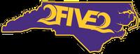 purple and gold 252 east carolina sticker
