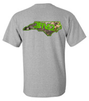 NC  Camo & Neon Green Tshirt