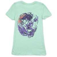 Mint & Purple Mermaid Tee