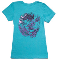Tahiti Blue & Purple Mermaid Tee