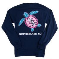 OBX Sea Turtle Tshirt
